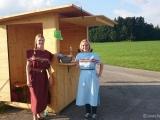 Boxenstopp für die Wanderer
