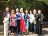 Gruppenbild der Mädels